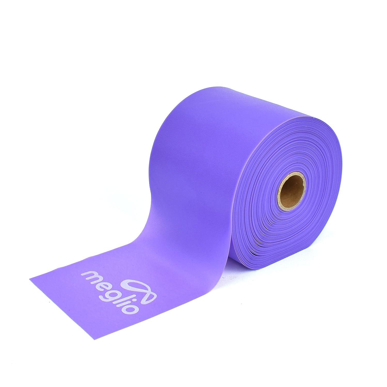 人気提案 Meglioラテックスフリー抵抗バンド25 Yard & 50 50 Yard Roll – Elastic stage Bandsラテックスフリー物理療法の強度、トレーニング、ピラティス、ヨガ、ホームWorkouts & Rehabilitation B07C5X3SWV Purple (Extra Light) For Early stage Rehab, Physio 50 Yard 50 Yard Purple (Extra Light) For Early stage Rehab, Physio, 北条町:09d04452 --- beyonddefeat.com