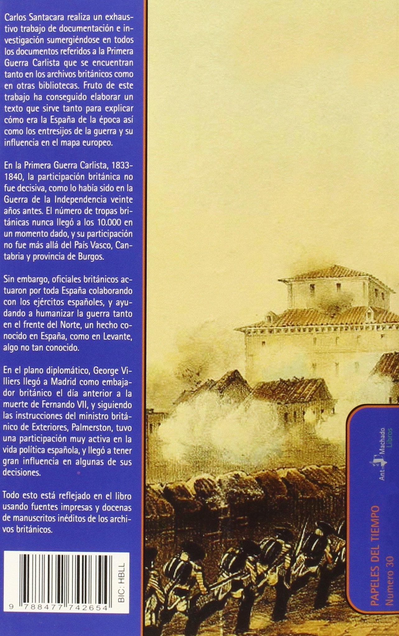 La Primera Guerra Carlista Vista Por Los Británicos. 1833-1840 ...