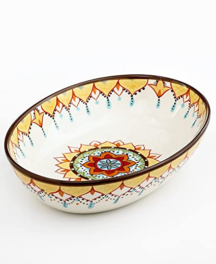 Vida By Eva Mendes Dinnerware Catalina Vegetable Bowl  sc 1 st  Amazon.com & Amazon.com | Vida By Eva Mendes Dinnerware Catalina Vegetable Bowl ...