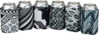 product image for Beer Can Sleeve – Pack of 6 Drink Can Sleeves – Premium Insulating Beer Wraps – 12 oz Beer Sleeve Covers – Foam Can Holder – Durable and Sturdy Can Sleeves for Beer and Soda