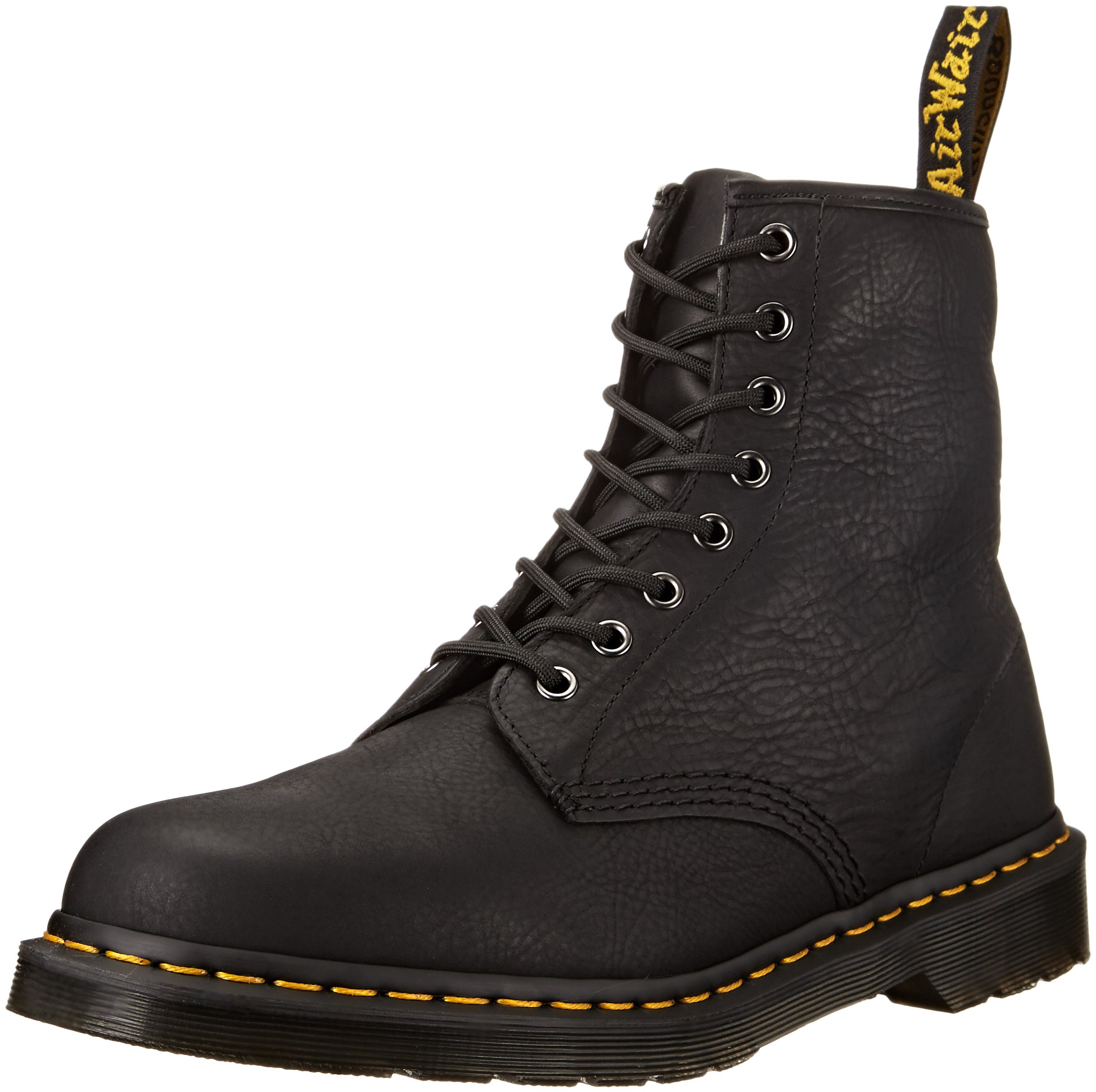 Dr. Martens Men's 1460 Carpathian Combat Boot, Black, 12 UK/13 M US by Dr. Martens