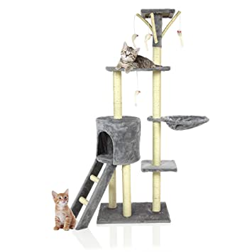 7dda2acfe22d Cozy Pet Deluxe Multi Level Cat Tree Scratcher Activity Centre Scratching  Post Heavy Duty Sisal Cat ...