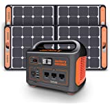 Jackery Portable Power Station Explorer 1000, 1002Wh Solar Generator with 3x110V/1000W AC Outlets, Solar Mobile Lithium Batte