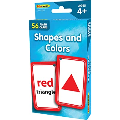 Teacher Created Resources Shapes and Colors Flash Cards: Office Products