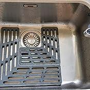 Joseph Joseph Sink Saver Adjustable Protector Grey