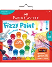Faber-Castell Do Art Fizzy Paint, Mix and Make Watercolor Kit for Kids Fizzy Paint Kit