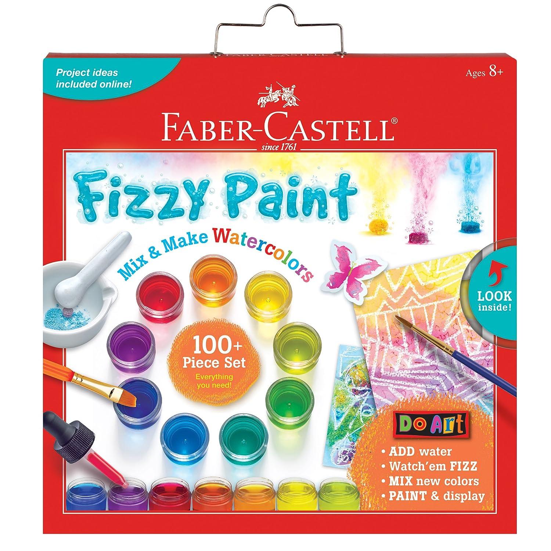 Faber Castell Do Art Fizzy Paint, Mix & Make Liquid Watercolors - Watercolor Paint Set for Kids