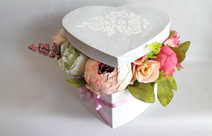 Amazoncom Artificial flowers flower arrangement Valentines Day