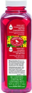 Perky-Pet 247 Red Hummingbird Nectar Concentrate, 16-Ounce , Brown
