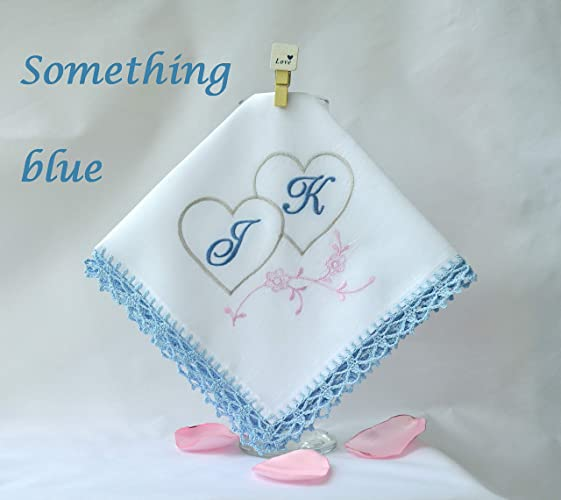 Amazon Personalized Monogrammed Handkerchief For Her Something