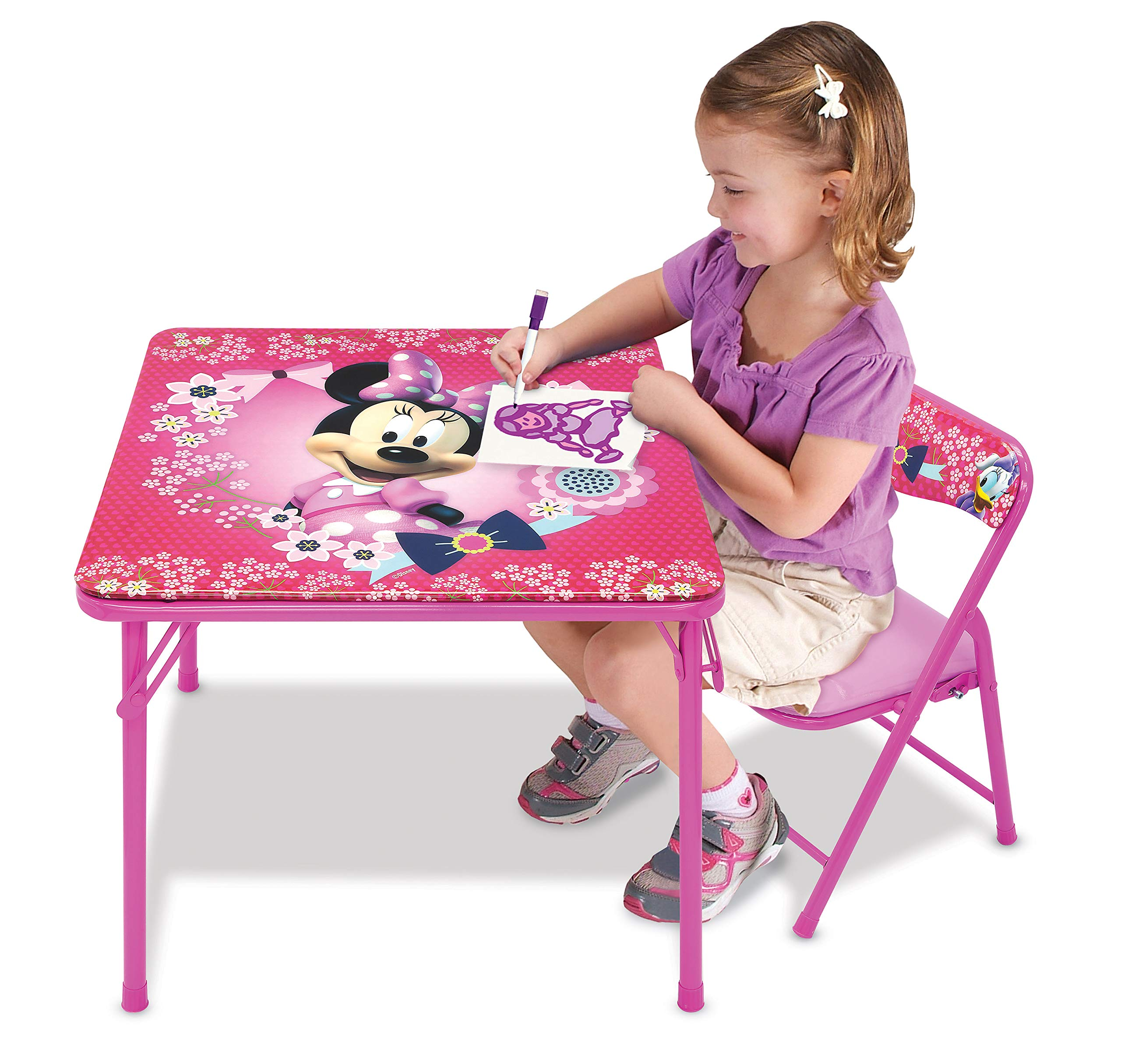 Minnie Mouse Blossoms & Bows Jr. Activity Table Set with 1 Chair by Minnie Mouse