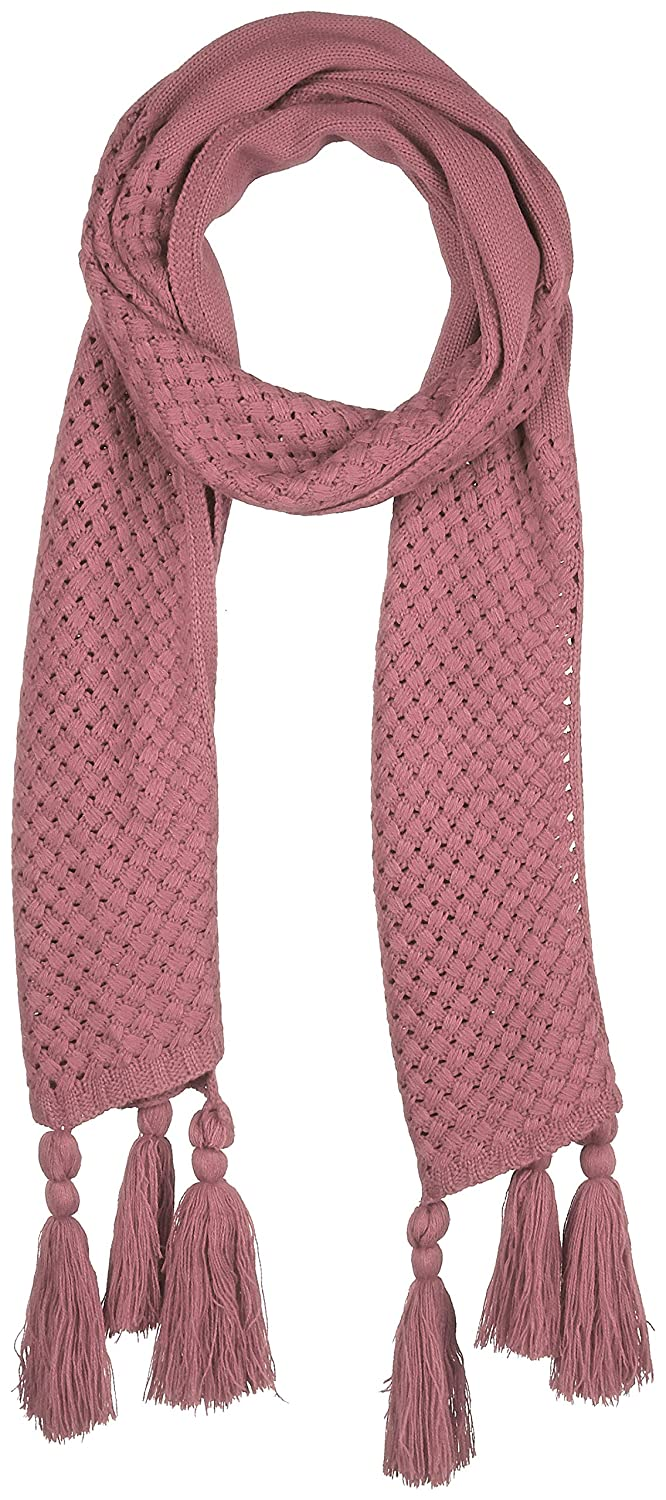 Pink Beautiful Nomad Women colorful Scarf Wrap with Tassels