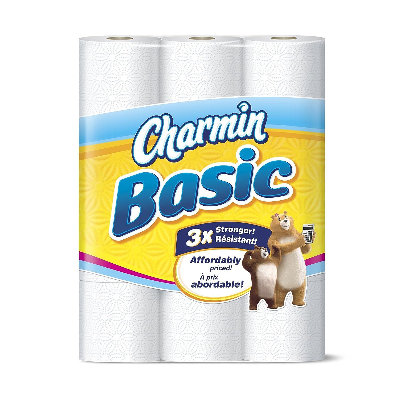 Charmin Basic Rollos De Papel Higiénico Doble 037000859833 1 1 Grocery Gourmet Food