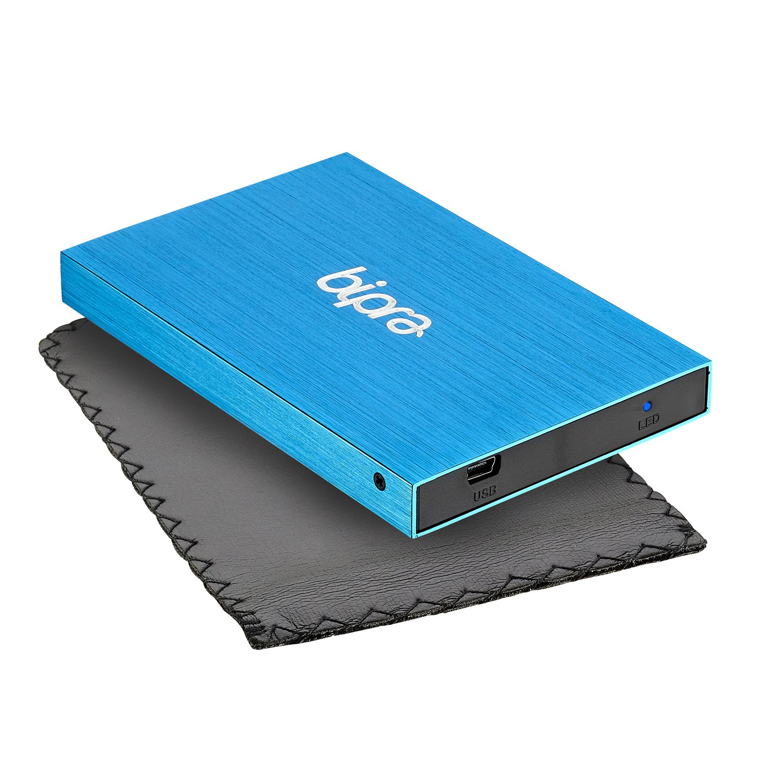 NTFS, 2,5 Bipra Disco duro externo color azul azul 320 gb