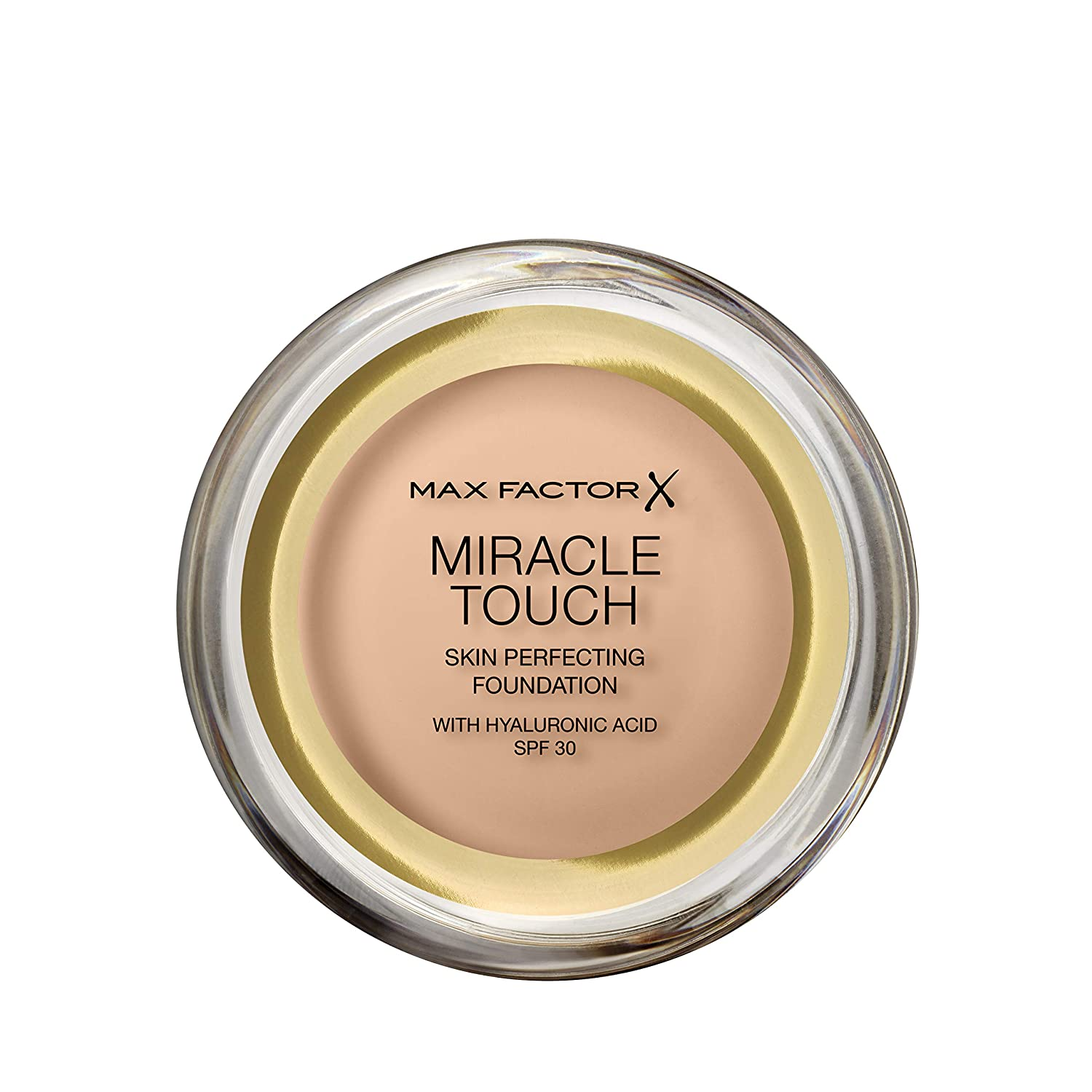 Max Factor Miracle Touch Skin Perfecting Foundation SPF30-43 Golden Ivory