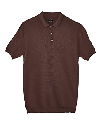 MASSIMO DUTTI 0951/444 - Suéter de algodón para Hombre Marrón ...