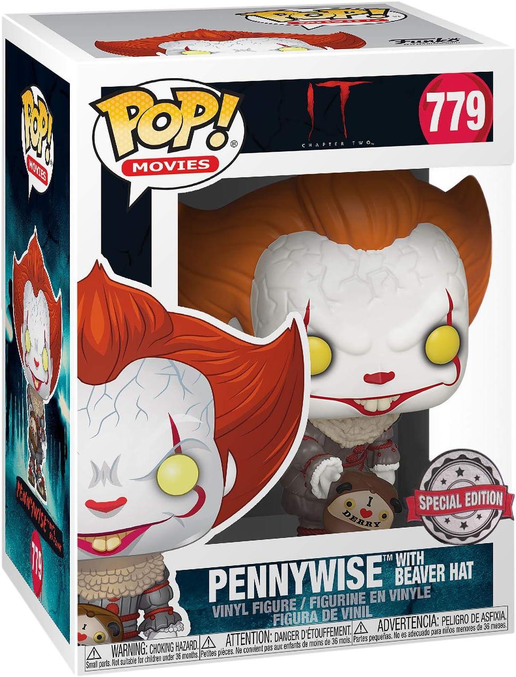 Pennywise Exclusive with Blade Vinyl Figure Collectors Bundle Funko Pop