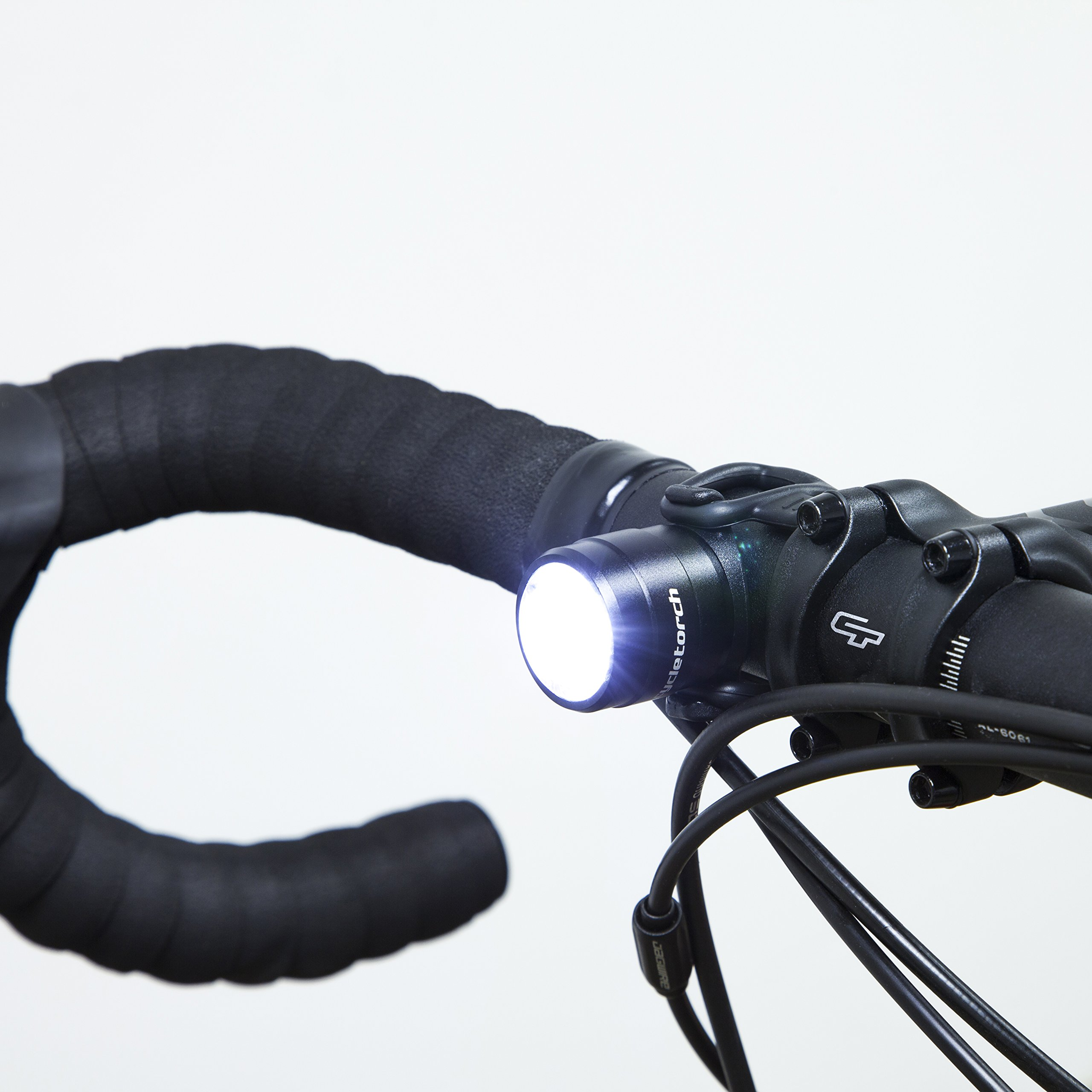 6000LM LED Bike Headlight Cycling Bicycle Front Headlamp Rear Light USB Charging