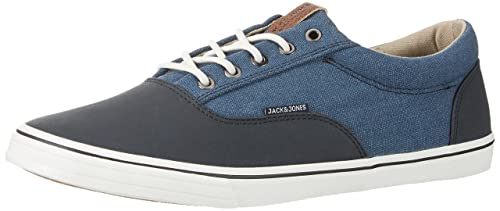 Jack & Jones Jfwtack Mix, Zapatillas para Hombre, Azul (Light Blue Denim), 42 EU