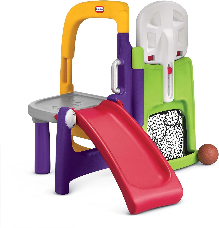 First Slide Fold Compact Backyard Playground Climber Set Fun Toy Kids Gift