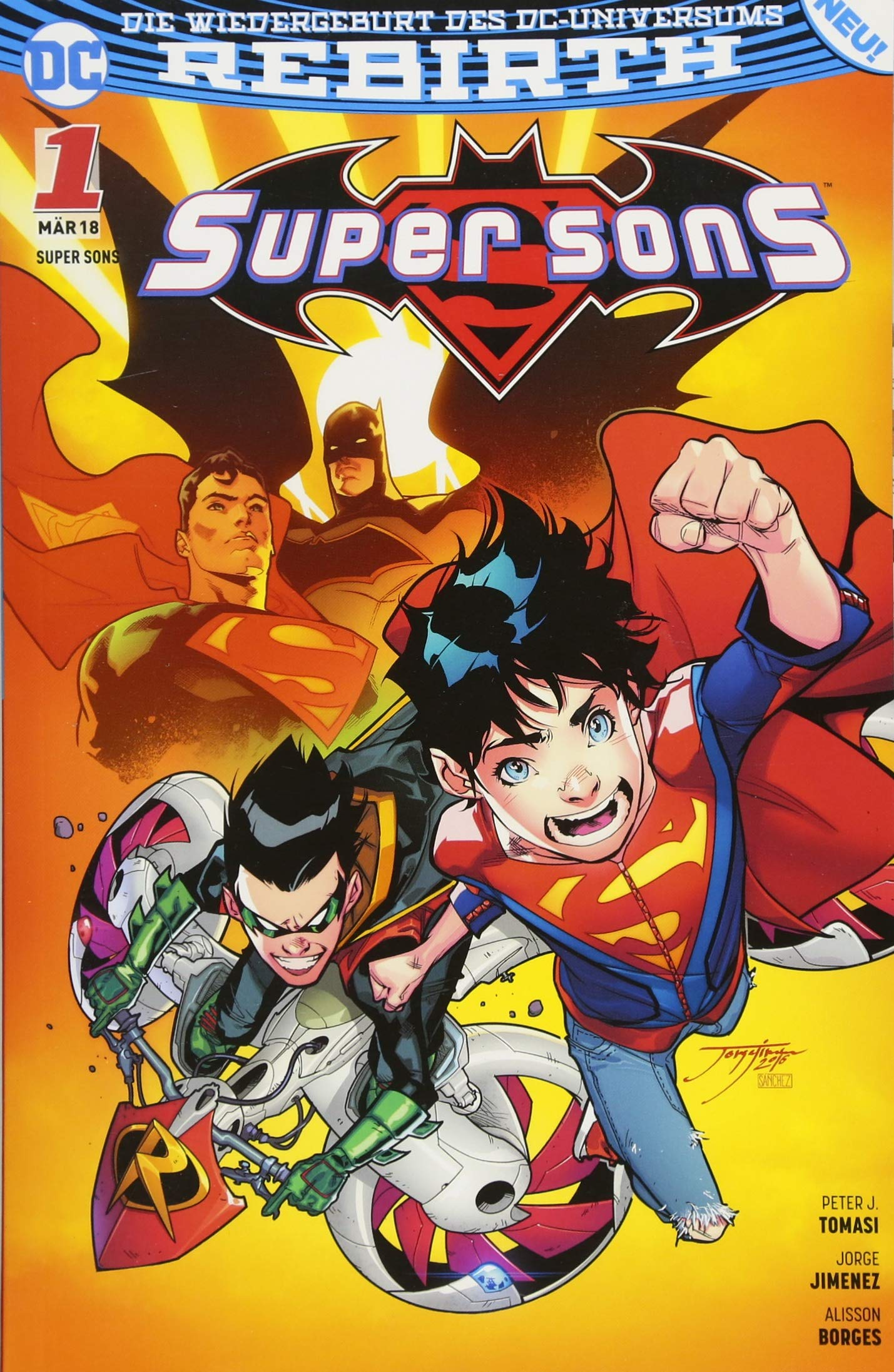 Super Sons: Bd. 1: Familienzoff