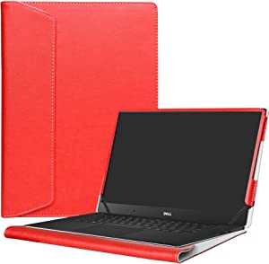 "Alapmk Protective Case Cover for 15.6"" Dell XPS 15 9570 9560 9550/XPS 15 2 in 1 9575/Precision 2-in-1 5530/Precision 15 5530 Laptop(Note:Not fit Older xps 15 9530 L501X L502X L521X),Red"