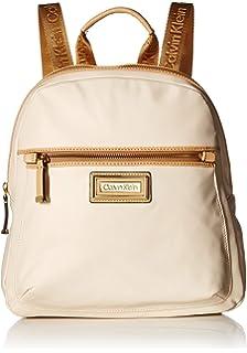 c47024c692 Amazon.com: Calvin Klein Sonoma Bubble Lamb Zip Around Backpack ...