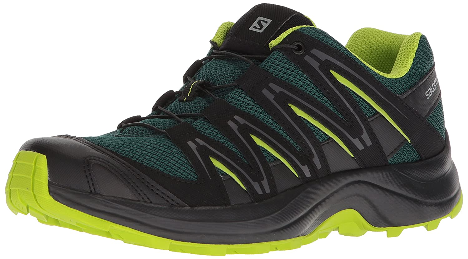Salomon Men's Xa Baldwin Trail Running Shoe B074KHTQ78 11 D(M) US|Rainforest/Black/Lime Green