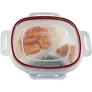 Amazon Com 8 6in Microwave Divided Plates With Vented