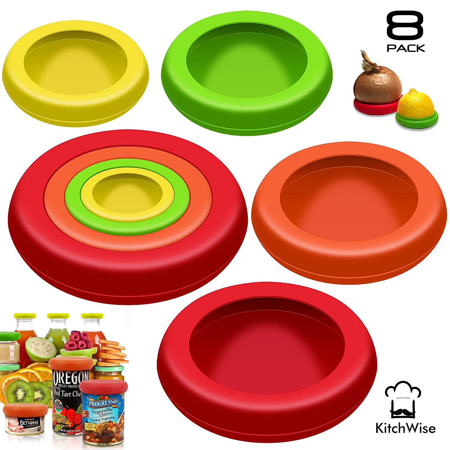 Kitchwise Reusable Fruit & Vegetable Saver
