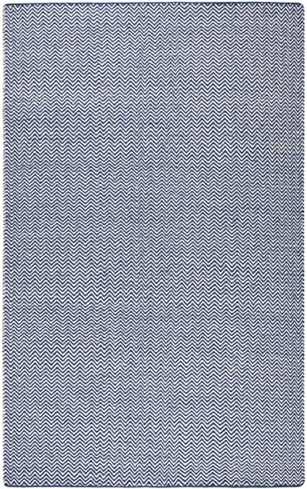 Gatney Rugs Pointe Area Rug Tw2922 Blue Chevron Lined 9 X 12 Rectangle Furniture Decor