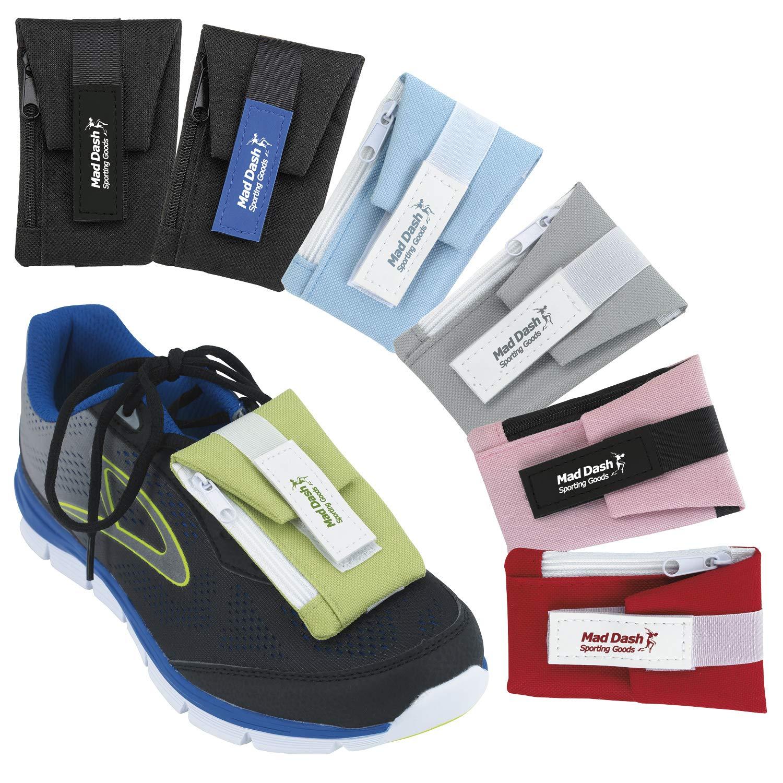 Good Value Shoe Wallet White/Light Blue 100 Pack