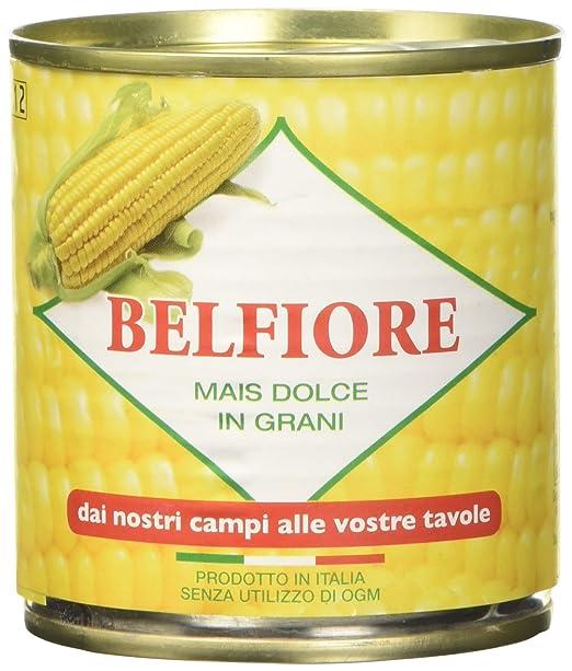 8 opinioni per Belfiore Mais Dolce in Grani Teneri, Italiano- 8 pezzi da 160 g [1280 g]