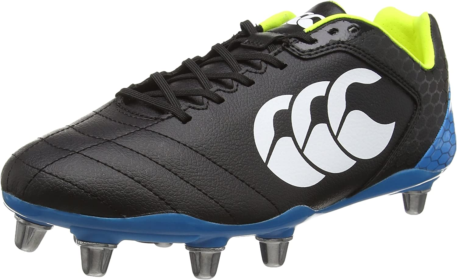 Canterbury Stampede Club Rugby Boots - 黒 Size 11