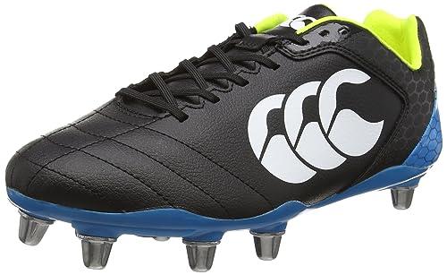 Stampede Club 8 Rugby Boots - Black
