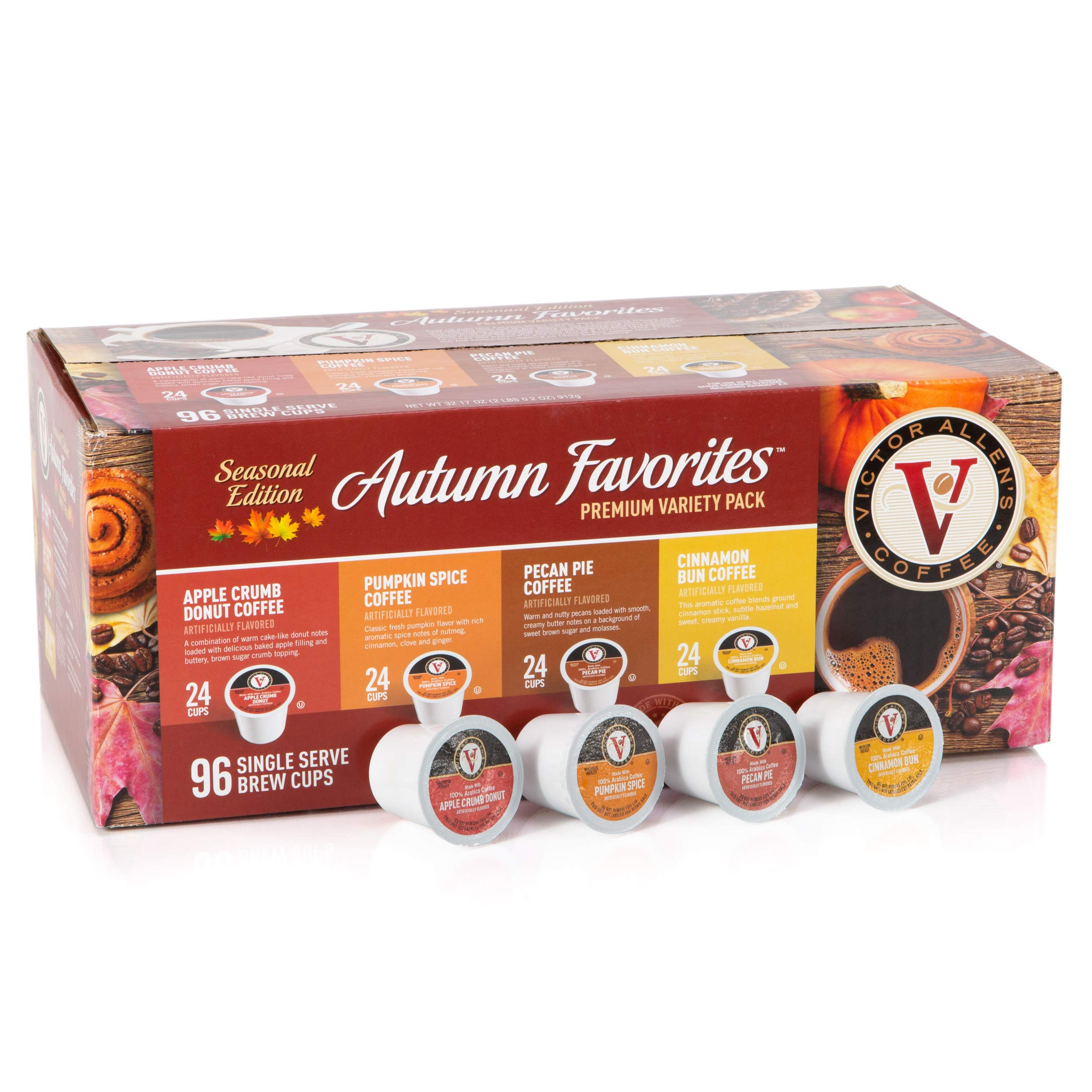 Victor Allen Coffee Holiday Favorites Coffee Amp Hot Cocoa