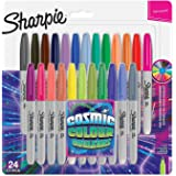 Sharpie Fine Permanent Markers Cosmic Colours Pack of 24