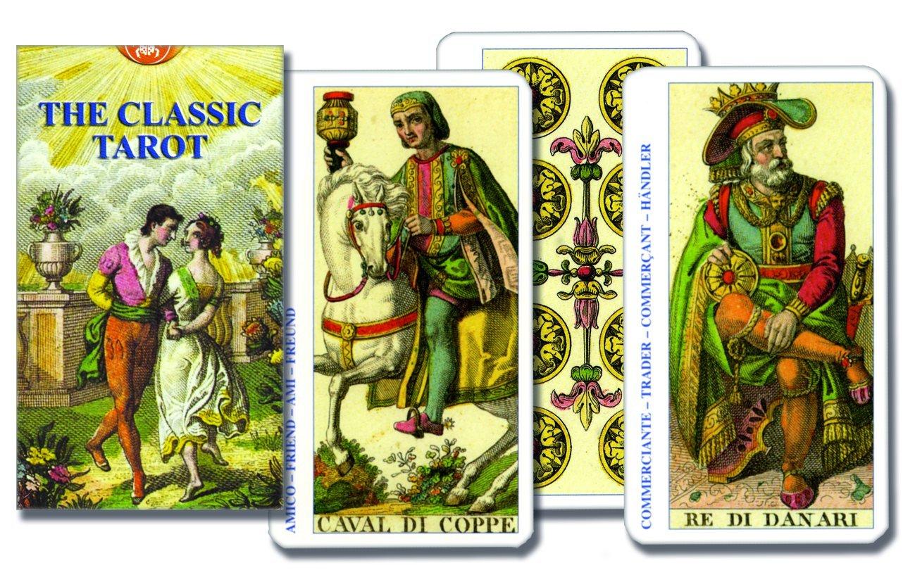 The Classic Tarot English French Spanish And German Edition Lo Scarabeo 9780738700151 Amazon Com Books