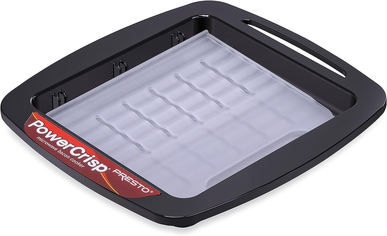 Presto Microwave Bacon Cooker Crisper Cooking Accessory Kitchen Dishwasher Safe