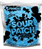 SOUR PATCH KIDS Blue Raspberry Soft & Chewy Candy, 5 lb Bag