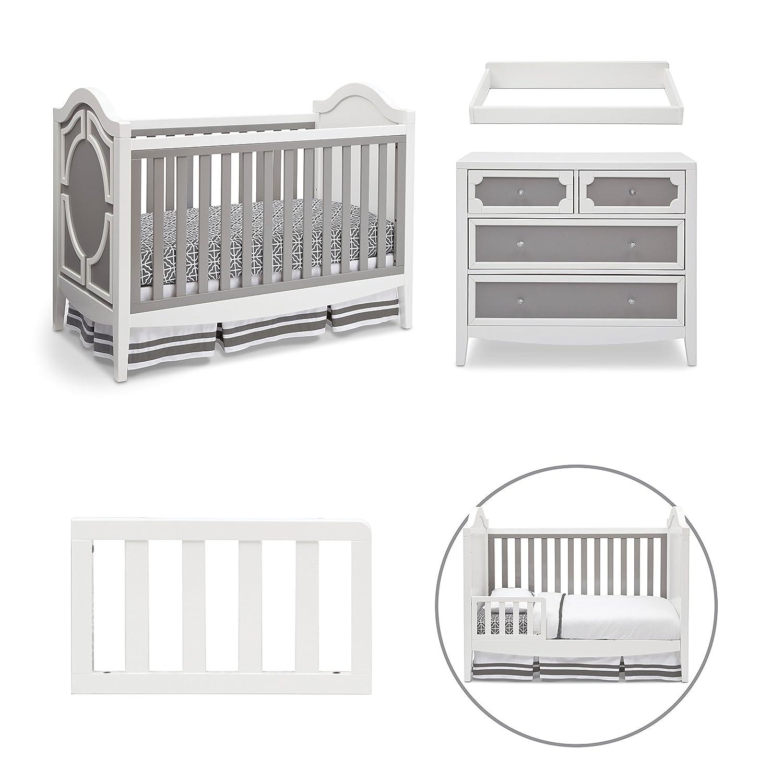 Crib Dresser Set Baby Mod Bella Crib And 3 Drawer Dresser