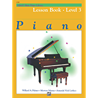 Alfred's Basic Piano Library - Lesson 3: Learn to Play with this Esteemed Piano Method book cover