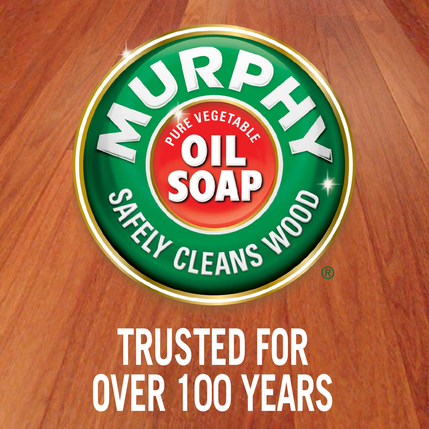 MURPHY OIL SOAP Wood Cleaner, Original, Concentrated Formula, Floor Cleaner, Multi-Use Wood Cleaner, Finished Surface Cleaner, 128 Fluid Ounce (US05480A) by Murphy Oil (Image #5)