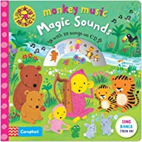 Monkey Music Magic Sounds: Book And CD