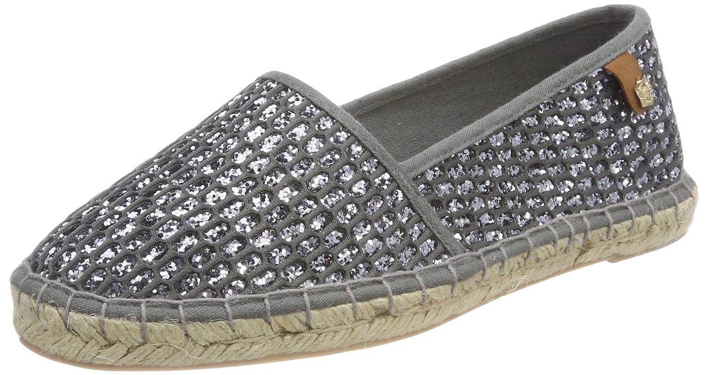 Details zu Tamaris Schuhe Espadrilles Damen Silber 39 Neu