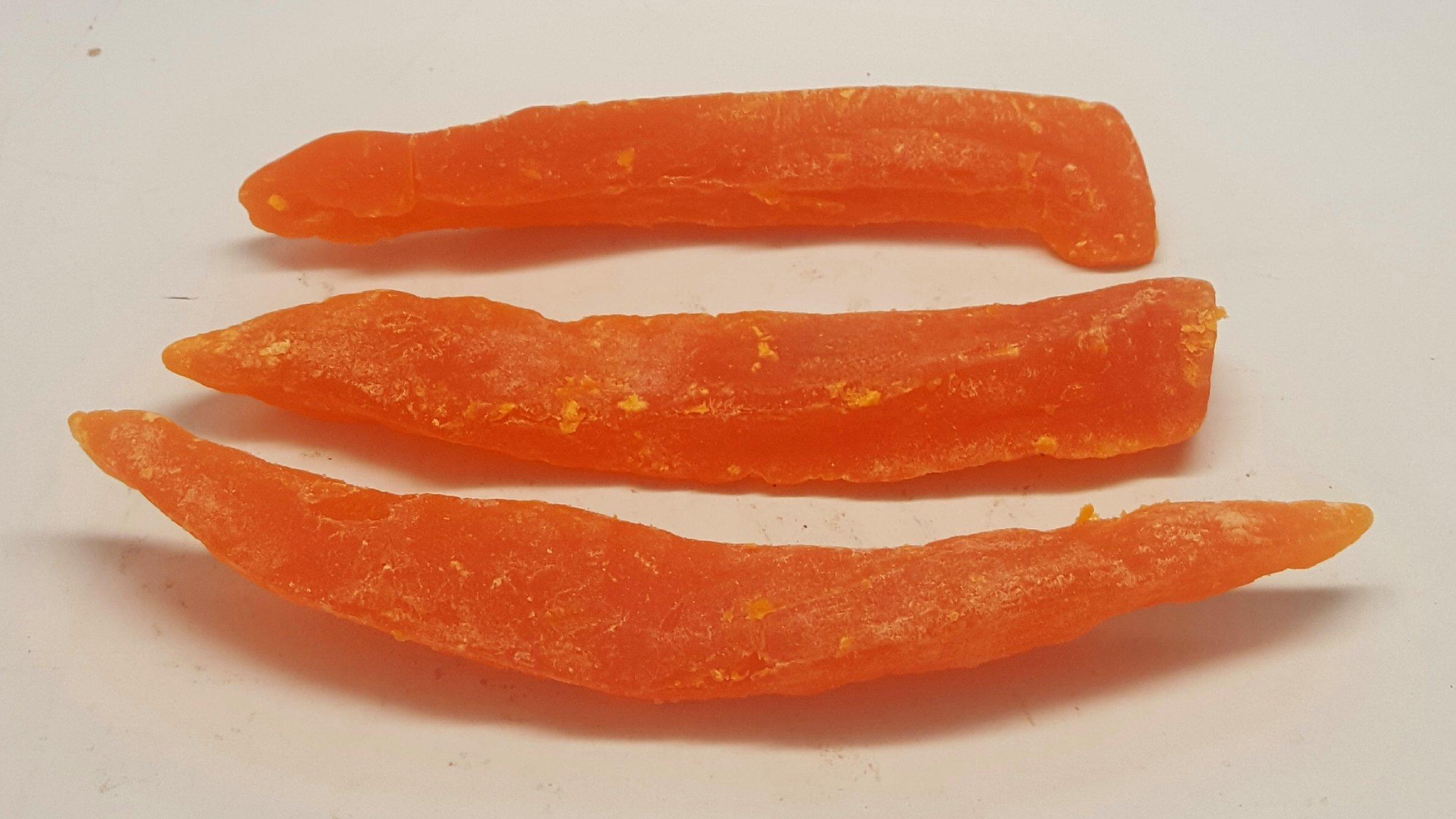 Papaya, Dried Spears (11 lbs.) by Presto Sales LLC