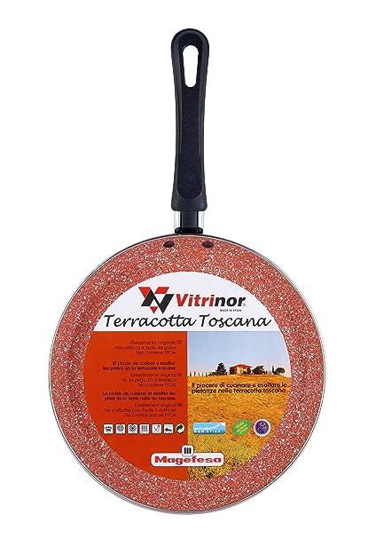 Desconocido Magefesa Toscana Terracota Crepier, Acero, Borgoña, Centimeters