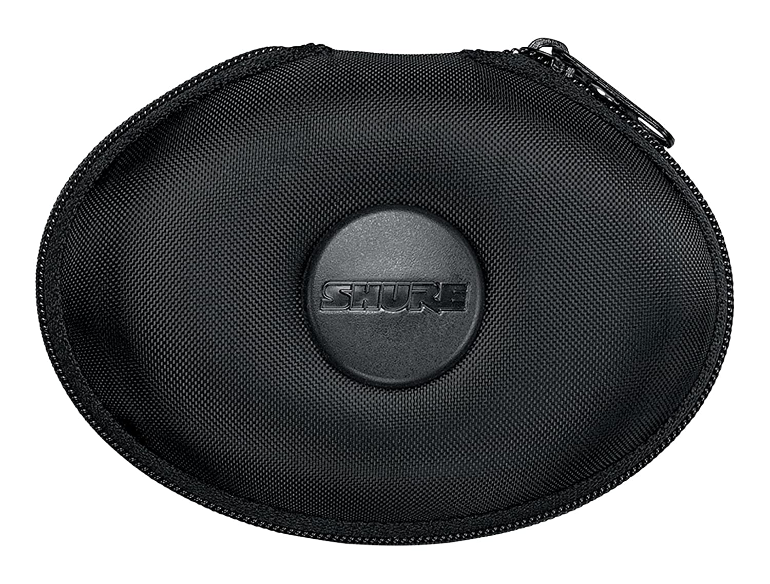 Shure EAHCASE Fine Weave Hard Pouch for Shure Earphones - Black Shure Incorporated