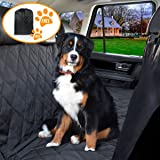 YonRui Pet Seat Cover Dog Car Seat Covers With Storage bag-600D Waterproof, Nonslip Backing and Hammock Style Easy to Clean and Install for Cars, Trucks and Suv's