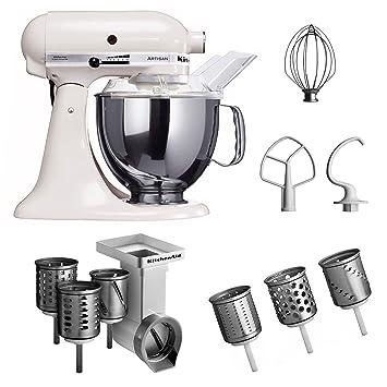 Kitchenaid KSM150PSEWH + MVSA + EMVSC Kitchenaid 5KSM150PSEWH  Küchenmaschine Serie \